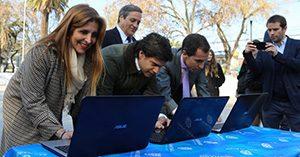 Subtel y Municipalidad de Santiago inauguran 10 puntos WiFi en la comuna